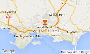 Carte Toulon Maison 104226