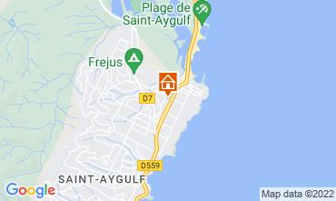 Carte Saint Aygulf Studio 35438