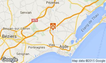 Carte Cap d'Agde Maison 75942