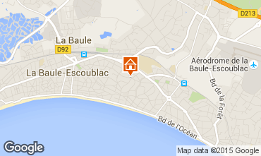 Carte La Baule Appartement 86394