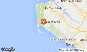 Carte La Palmyre Mobil-home 102033
