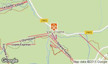 Carte Val d'Isère Appartement 3359
