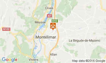 Carte Mont�limar Gite 79796
