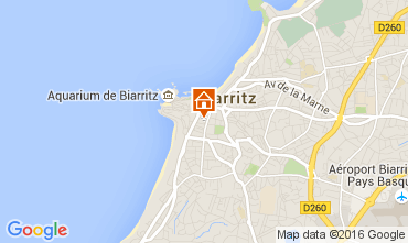 Carte Biarritz Appartement 76924