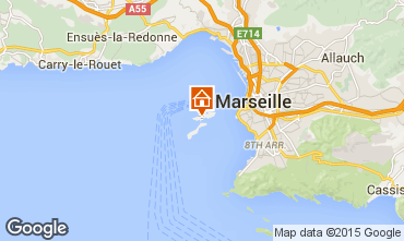 Carte Marseille Studio 99981