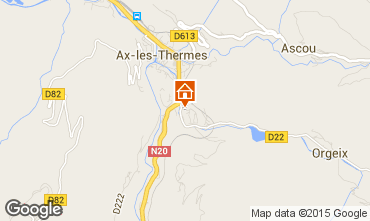 Carte Ax Les Thermes Appartement 72066