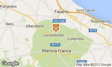 Carte Alberobello Chalet 16444