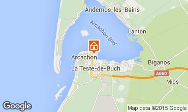 Carte Arcachon Appartement 60781