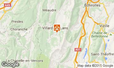Carte Villard de Lans - Corrençon en Vercors Chalet 48608