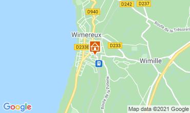 Carte Wimereux Villa 88410