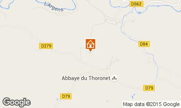 Carte Le Thoronet Maison 98597