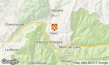 Carte Alpe d'Huez Chalet 100569