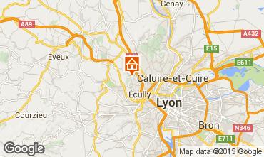 Carte Lyon Gite 100775