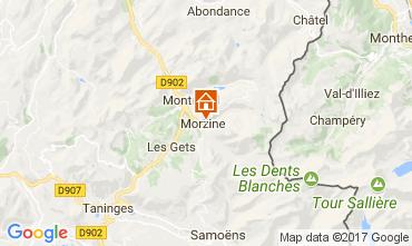 Carte Morzine Chalet 112046