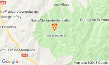Carte Les Menuires Chalet 100576