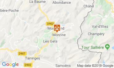 Carte Morzine Chalet 117973