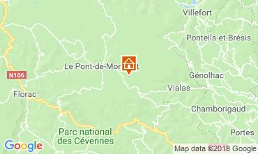 Carte Mont Lozère Maison 117356