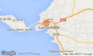 Carte La Rochelle Gite 75124