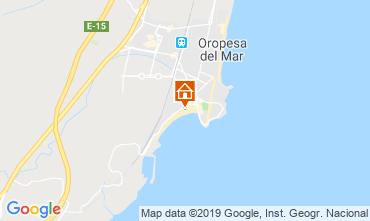 Carte Oropesa del Mar Appartement 118249