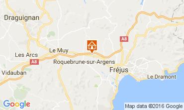 Carte Roquebrune sur Argens Mobil-home 107194
