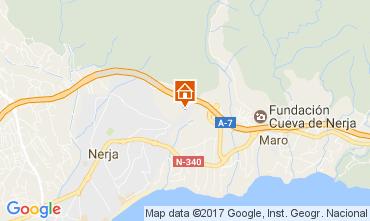Carte Nerja Villa 108644