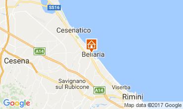 Carte Bellaria Igea Marina Appartement 108203