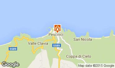 Carte Peschici Appartement 91540
