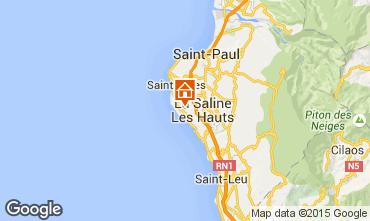 Carte La Saline les Bains Villa 75877