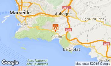 Carte Cassis Villa 89945