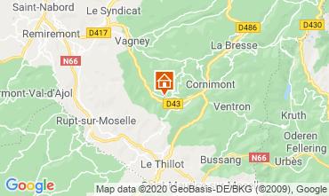 Carte La Bresse Hohneck Appartement 4566