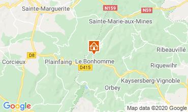 Carte Station du Lac Blanc Chalet 4523