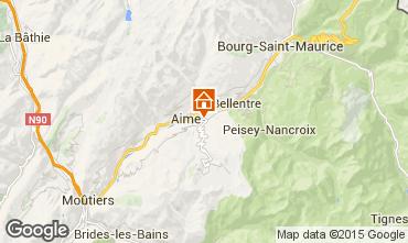 Carte La Plagne Chalet 64818