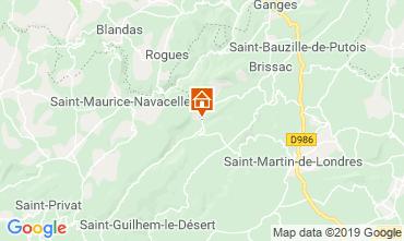 Carte Saint Guilhem le Désert Gite 118530