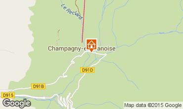 Carte Champagny en Vanoise Appartement 77960