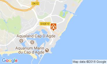 Carte Cap d'Agde Appartement 112976
