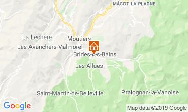 Carte Brides Les Bains Appartement 4914