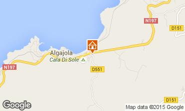 Carte Algajola Appartement 86904