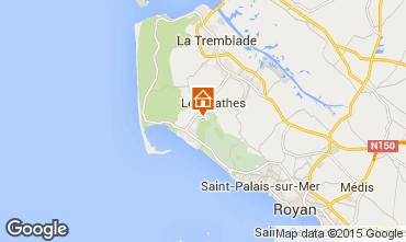 Carte Les Mathes Mobil-home 77563