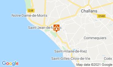 Carte Saint Jean de Monts Appartement 118671