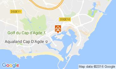 Carte Cap d'Agde Studio 107212