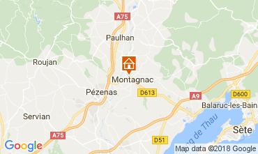 Carte Pézenas Villa 113171
