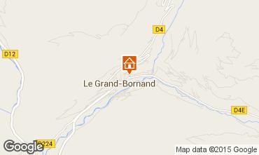 Carte Le Grand Bornand Studio 1385