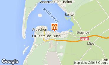 Carte Arcachon Chalet 93525
