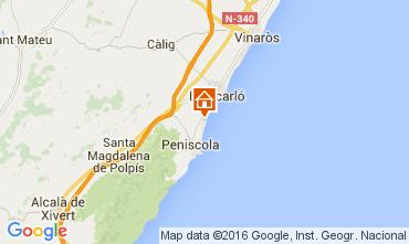 Carte Peñíscola Appartement 105376
