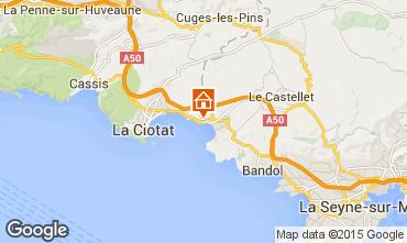 Carte Saint Cyr sur Mer Studio 59725