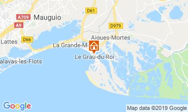 Carte Le Grau du Roi Appartement 117986