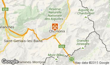 Carte Chamonix Mont-Blanc Appartement 663
