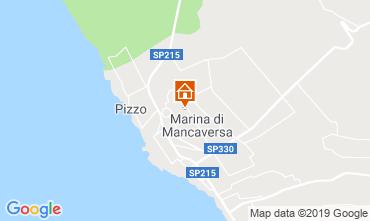 Carte Marina di Mancaversa Appartement 117653