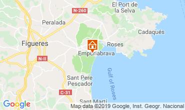 Carte Empuriabrava Villa 108889