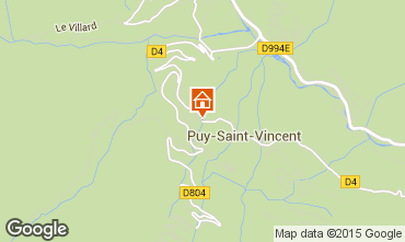 Carte Puy Saint Vincent Studio 2397